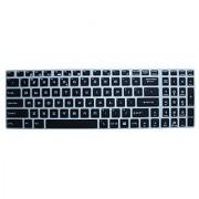 CaseBuy Keyboard Skin for MSI GS60 GS70 PE60 PE70 GE62 GL62 GE72 GL72 Ghost WS60 Workstation GP62 Leopard Pro GT62VR GT72 GT72S DOMINATOR GS63VR GS73VR Stealth Pro GT73VR Titan Pro(Semi-Black)