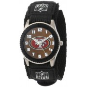 Game Time Youth NFL Rookie negro reloj, hombre, NFL-ROB-SF, San Francisco 49ers, talla única