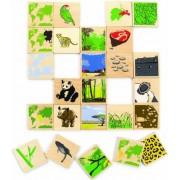"""opha Nécessite un Diagnostic précoce Ecoline 702777 Puzzle en bois """"Le Monde Animal"""""""