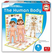Educa 16420 - Gioco Educativo I Learn. The Human Body