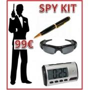 Kit Telecamera Nascota Spia