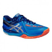 Asics Gel-Blast 6 blau / silber / orange UK 9 US 10 EU 44 28 cm
