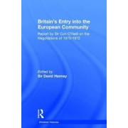 Britain's Entry into the European Community by Sir Con O'Neill
