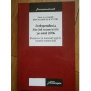 Jurisprudenta Sectiei Comerciale Pe Anul 2006 - Necunoscut