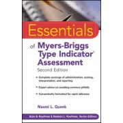 Essentials of Myers-Briggs Type Indicator Assessment by Naomi L. Quenk