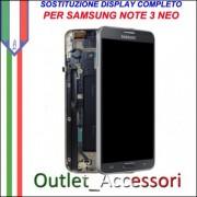 Sostituzione Riparazione Display Samsung Note 3 NEO SM-N7505 N7505 Cambio Assemblaggio Display Vetro Cornice Schermo Rotto