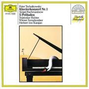 Svjatoslav Richter,Wiener Symphoniker,Herbert von Karajan - Tschaokowsky:Klavierkonzert nr.1/Rachmaninov:5 Preludes (CD)