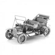 3D tridimensional de bricolaje coche Asamblea Modelo de Ford - plata