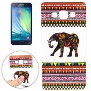 Elephant Pattern TPU Case for Samsung Galaxy A5