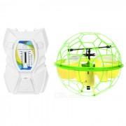 Regulable luz de la bola de la mosca UDIR / C U935 inducida por IR R / C Aviones - Amarillo