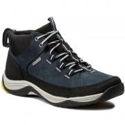 Обувки CLARKS - Baystonehi Gtx GORE-TEX 261296207 Navy Nubuck