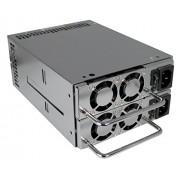 Zippy Technology MRG-6500P unidad de funte de alimentación - Fuente de alimentación (500W, 32A, 85%, 4 cm, WTX, 80488h) Plata