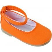 Kaethe Kruse 33418 - Doll Accessori - tessuto Ballerine, taglia 41 arancione,