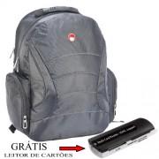 Mochila de Notebook Netbook Laptop 14´,5 Everstrong 648 - GRATIS leitor de cartoes de memoria