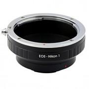 EOS-objektiv till Nikon1 J1 V1 Mount Adapter