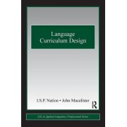 Language Curriculum Design by I. S. P. Nation