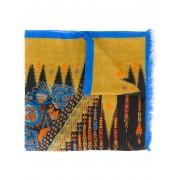 Etro платок с абстрактным принтом Etro