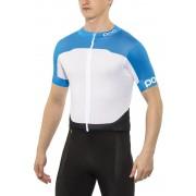 POC Raceday Climber - Maillot manches courtes - bleu/blanc L Maillots manches courtes loisir