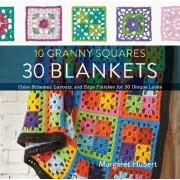 10 Granny Squares 30 Blankets by Margaret Hubert