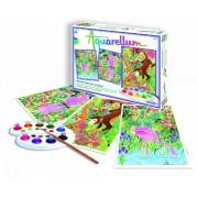 Fun Frag 6150 - Aquarellum Amazonas, páginas para colorear para colorear serie 3