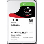 HDD Desktop Seagate IronWolf, 6TB, SATA III 600, 128 MB Buffer + Cablu S-ATA III 4World 08529, 457 mm