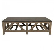 Orient Express Furniture Bella Antique Coffee Table 8022.SGRY-PNE/BLU