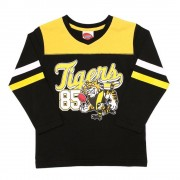 AFL Toddler Script Long sleeve Tee Richmond Tigers [Size:1]