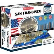 SAN FRANCISCO Puzzle 4D Cityscape