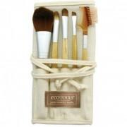 Pensule Make UP Par Natural ECOTOOLS - Set 5 bucati