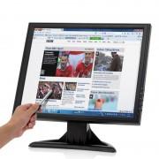 Moniteur tactile 17' LCD 1280 x 1024 - VGA, HDMI, TV pour PC / POS