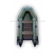 Čln Kolibri KM-280 zelený, lamelová podlaha