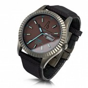 Alessandro Baldieri Gun Black Retrospec Watch AB0051