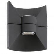 EGLO LED Wandlamp voor buiten Redondo 5 W antraciet 93368