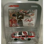 Dale Earnhardt Jr #8 12 February 2004 Budweiser Monte Carlo Born ON Date Twin 125 Win Raced Version 1/64 Scale Action Racing Collectables Limited Edition car