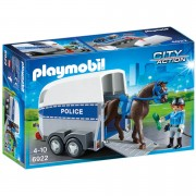 Playmobil City Action Police with Horse and Trailer (6922)