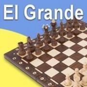 Jeu D'echecs Grand Format Bois Fait Main - El Grande