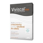 Man suplemento capilar antiqueda masculina 60comprimidos - Viviscal