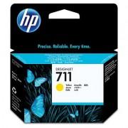 HP 711 Yellow Ink Cartridge, 29-ml (CZ132A)