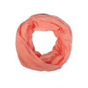 Kayla letní kroucený šál světle růžová