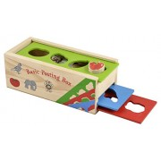 Skillofun Wooden Basic Posting Box, Multi Color