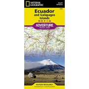 National geographic society Ecuador and Galapagos Island : 1/750 000 (Adventure map)