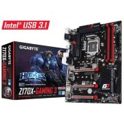 Gigabyte Ga-Z170X-Gaming 3 Socket LGA1151 Hdmi 7.1 Channel Audio Atx M