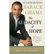The Audacity of Hope by President Barack Obama