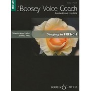 Singing in French: Medium/Low Voice by Mary King