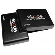 Estensore HDMI (Extender) su singolo cat.5/6 con IR, Nero