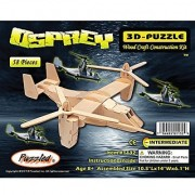 Puzzled Osprey Wooden 3D Puzzle Construction Kit