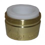 LARSEN SUPPLY CO., INC. - 2.2-GPM Polished Brass Dual Thread Aerator