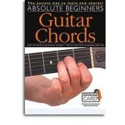 Absolute Beginners: Guitar Chords / Recueil+Audio-Online