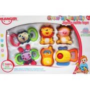 Haunger Baby csörgő szett gyerek játék - No.777-42