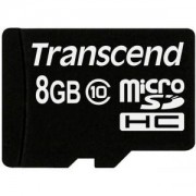 Transcend 8GB micro SDHC (No Box & Adapter - Class 10) - TS8GUSDC10